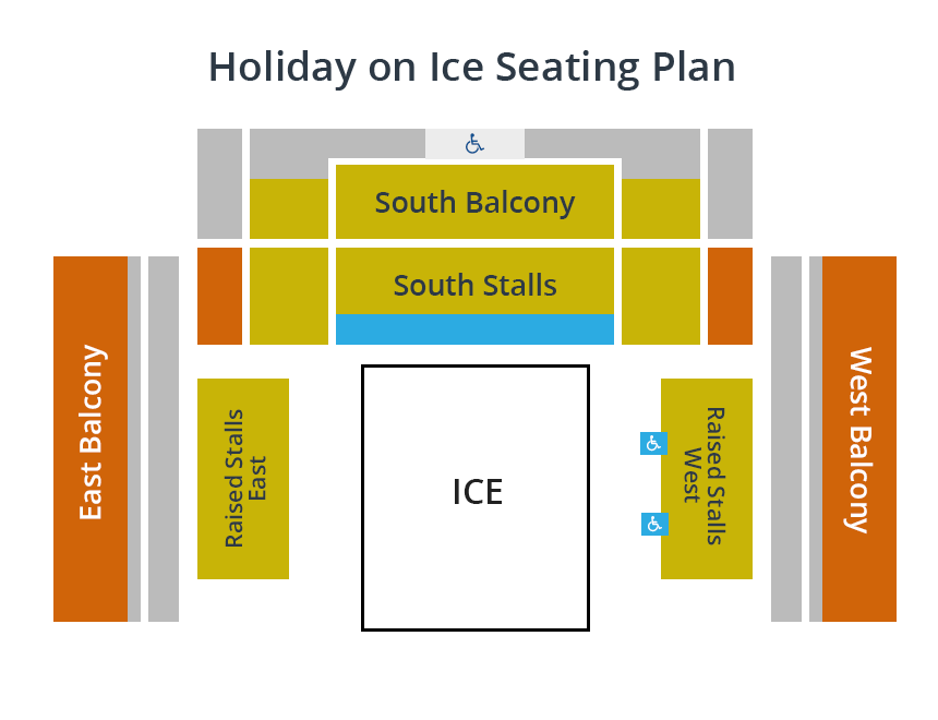 Holiday on Ice Seating Plan
