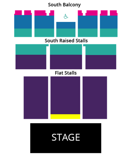 Sister Act Seating Plan - Brighton Centre