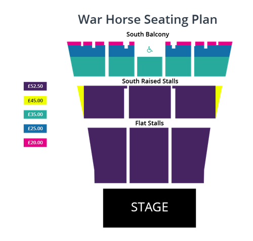 War Horse Seating Plan