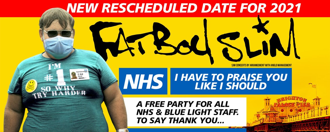 Fatboy Slim - A Free Concert for NHS Staff event image
